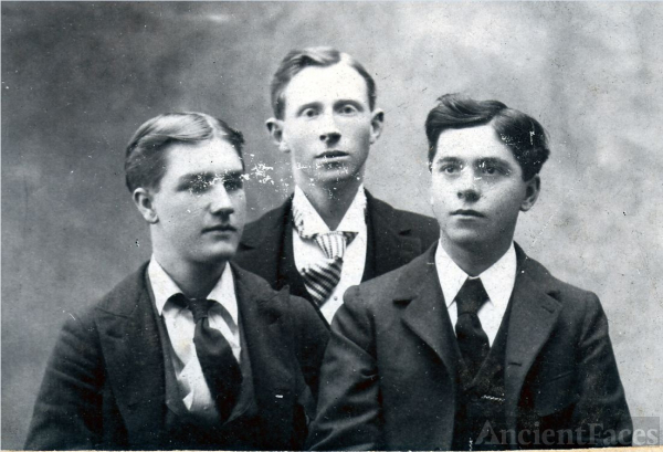 Three unknown men