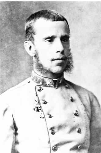 A photo of Rudolf Franz Karl Joseph