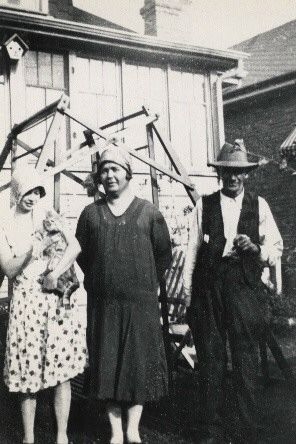 Harriet, Nina,& Tom Harrison, IA