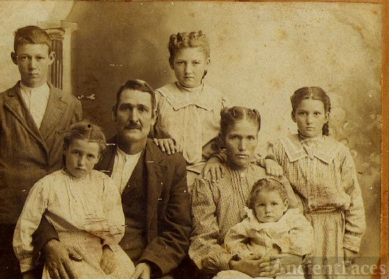 George Washington Marks Family, Texas 1890