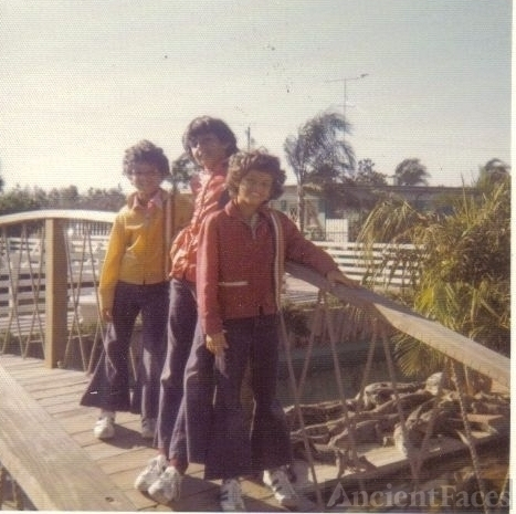 Paul, Jim, & Guy Ramphal, Florida 1973