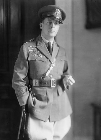 A photo of Douglas MacArthur