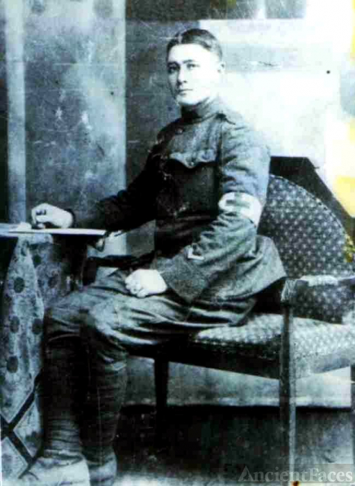 Fred Lee Patchin in Uniform