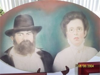 Gr-Grandfather Thomas H. King & Gr-Grandmother Allie May Andre King