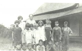 Phipps children, 1929 Tennessee