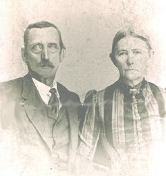 BENJAMIN FRANKLIN AND SARAH FRANCES MARSHALL DOLLINS- MY GR-GR GRANDPAARENTS