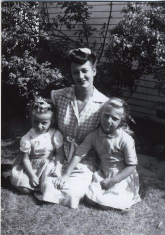 Wickenberg Mother, CA 1946