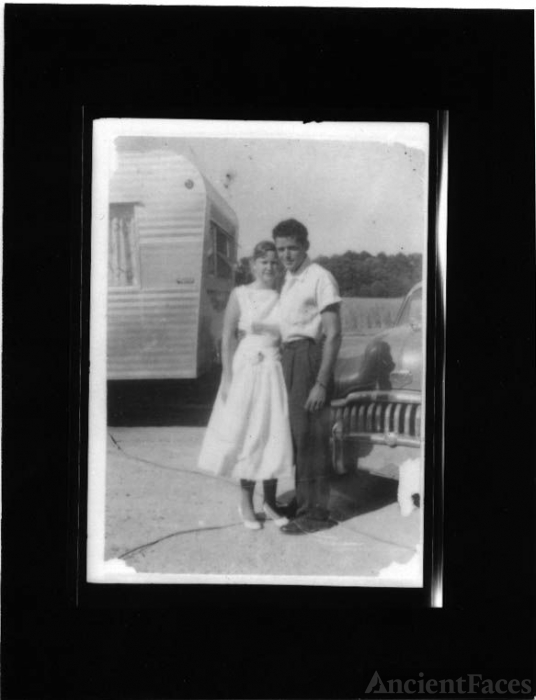 Unidentified Hodge Couple, 1956