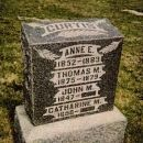 John Curtis Family Headstone
