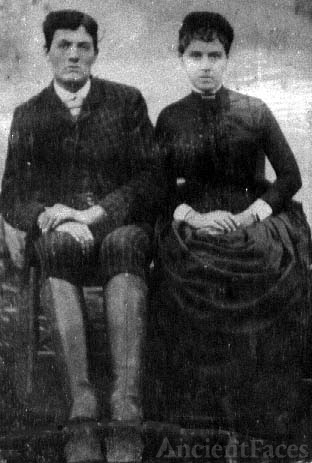 Doctor Aaron Herndon and Sarah Catherine Fields