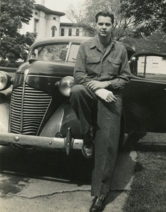 Charles Reed WWII, Ohio 1945