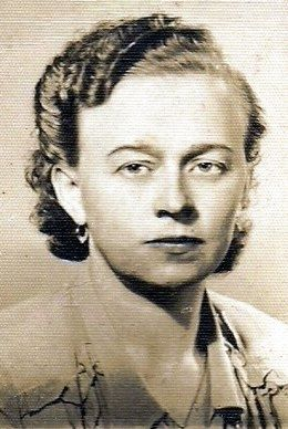 A photo of Janina Maslinska Utek