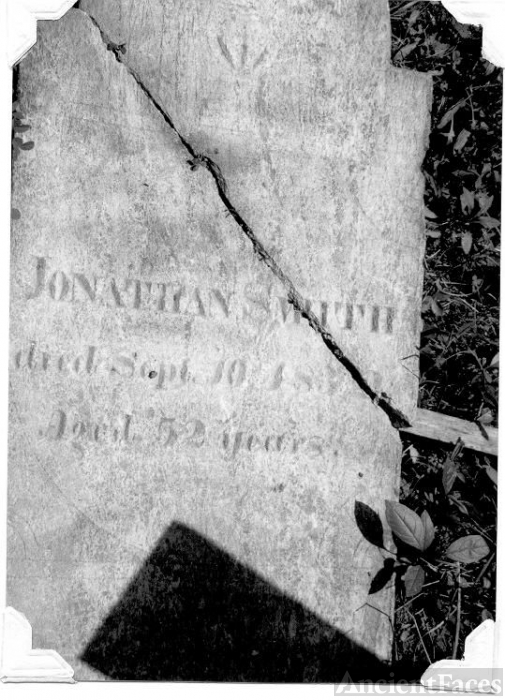Gravestone of Jonathan Smith Jr.