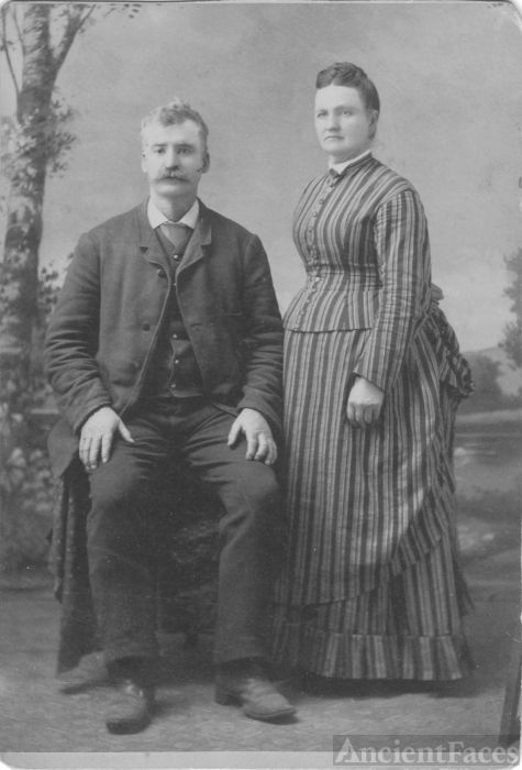 Grandma Morrison's mother and dad