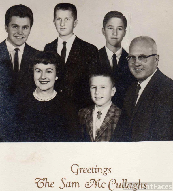Sam McCullagh Family, 1961