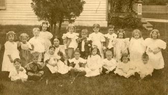 Kindergarden Picture About 1895