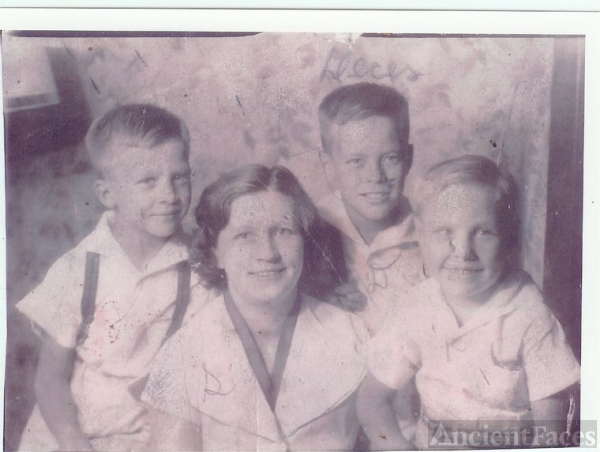 MARTHA STANLEY {BUSH} WEBB & HER SONS