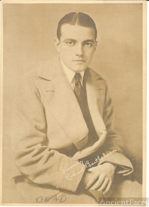 Richard Barthelmess, Actor