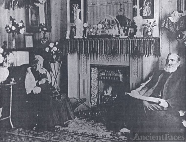 Alfred and Mary (Vallis) Scriven at Home in London
