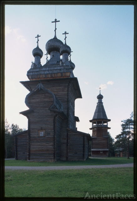 Church of the Ascension from Kushereka village (1669),...