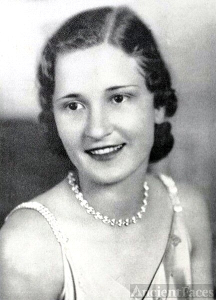 Mary Sue Burnham, Mississippi, 1932