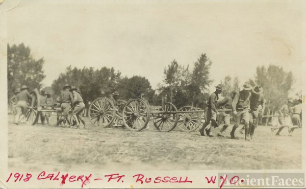 Fort Russell, WY 1918