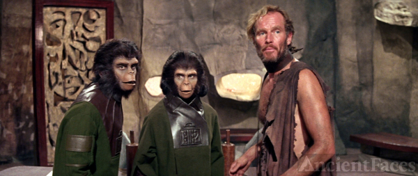 Planet of the Apes Cast 1968