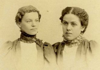 Minnie Huffman & Millie Spence, KS
