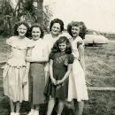 Great Grandma Flo and 4 Grand-Daughters