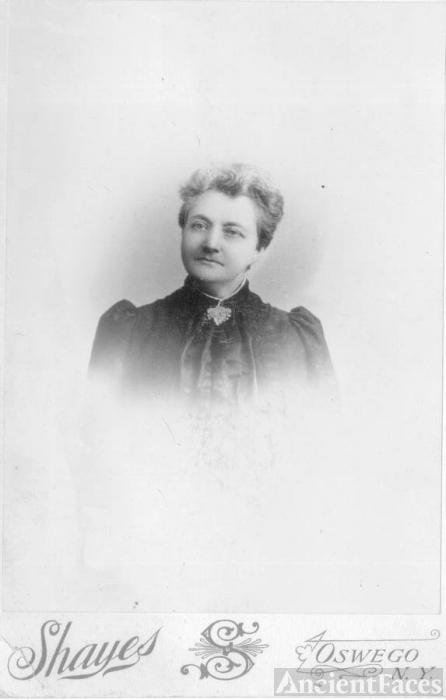 Dr. Mary V. Lee in 1892