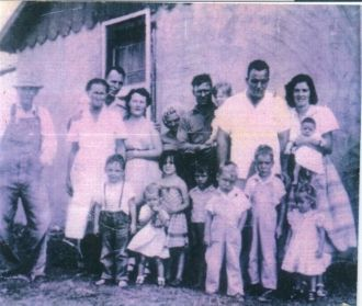 Harper Reunion-Taken about 1954