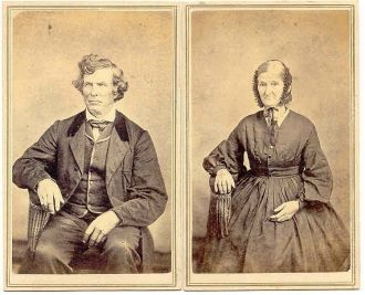 Joshua and Margaret Basom (Emery