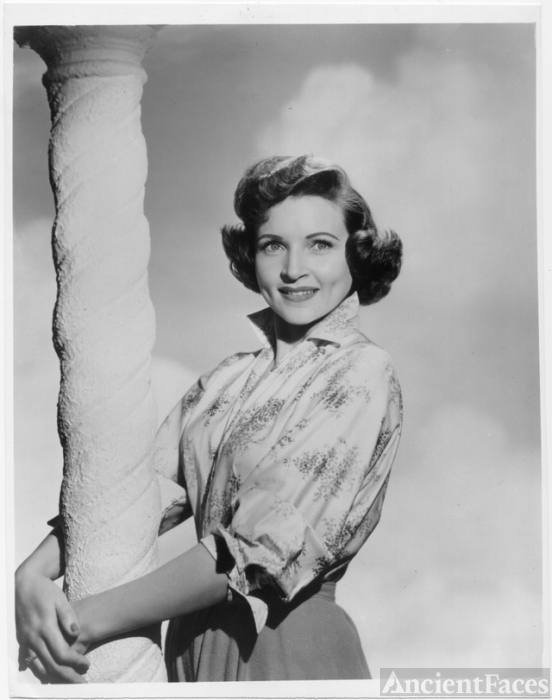 Betty White circa 1950