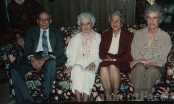 Earl, Elizabeth, Edna, and Mabel Keith