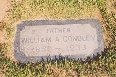 William A. Condley Headstone