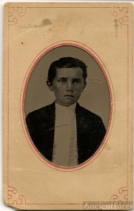Woodman boy, unidentified Illinois