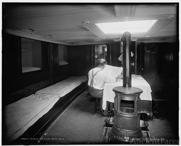 Cabin of pilot boat no. 2