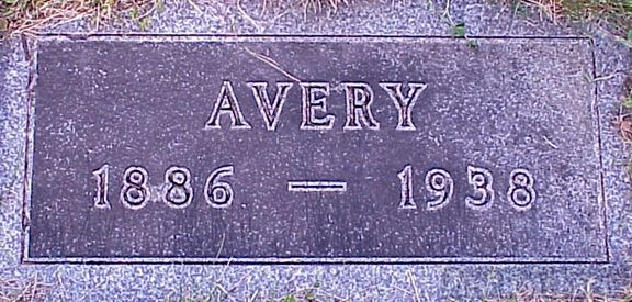 Tombstone--Warren Avery Stickney