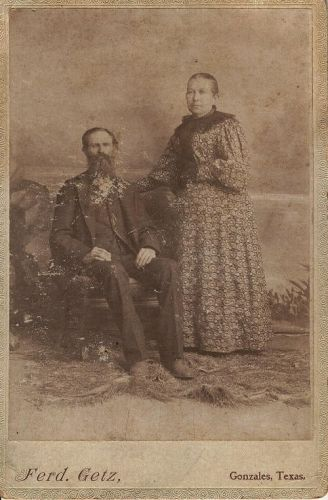 Electa Eliza Cady Carpenter and husband George Carpenter