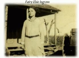 A photo of Fairy Elsie  Ingram