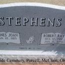 Robert & Joan Groothouse Stephens Grave