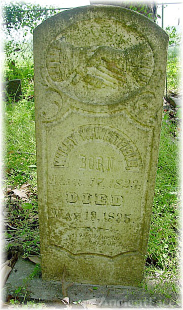 Wiley W. Whitfield Gravesite