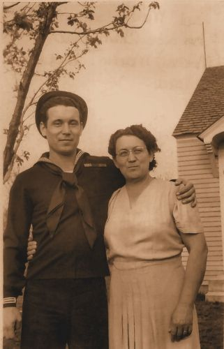 Bud Martin & his mom Cherry Martin