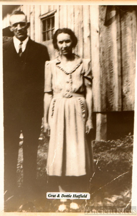 Gratton & Dottie Lou (Cook) Hatfield, WV