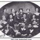 Catherine Fritz 1907 Girl's Basketball Team