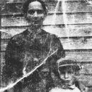 Ella McKinney Williams and son, Hoyt