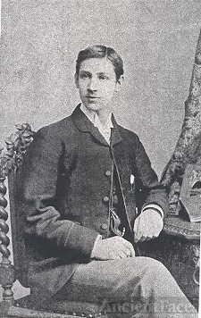 Young English Man, seated, dressed formally