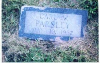 Carl Wayne Parsley Headstone, AR