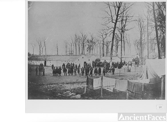 Confederate Prisoners, Camp Morton, Indiana