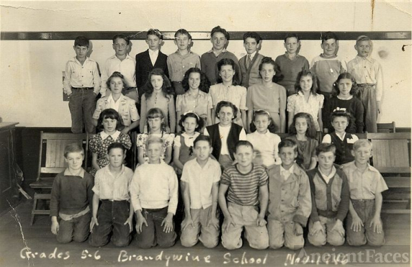 Brandywine School Mrs. Earnshaw's 5th&6th gr, 1946